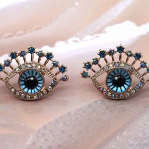 Jewelry - Evil Eye Large Earrings